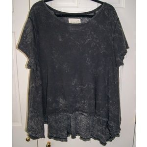 EUC Free People Circle in the Sand High/Low Tee